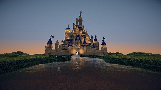 Minecraft Disney Castle Tutorial The Minecraft Disney Castle by